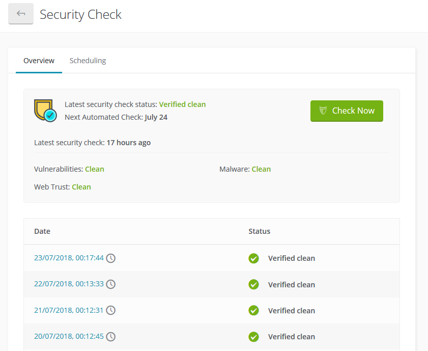Security Check - Check if your website is blacklisted
