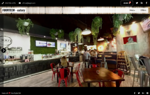 Virtual Tour for restaurants