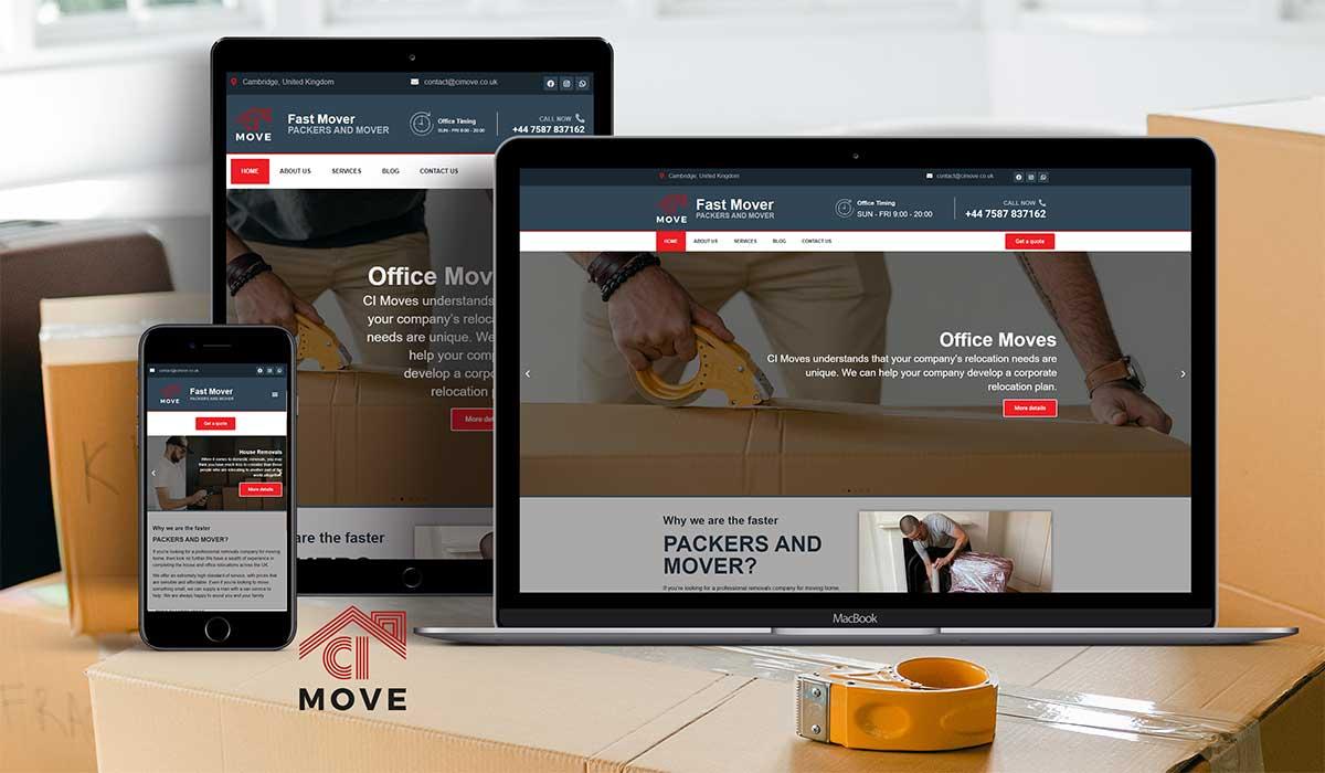 New website launch CI-MOVE
